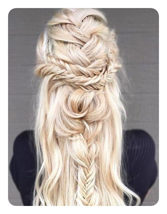 104 Fishtail Braids Hairstyles That Turn Heads Intended For Current Fishtail Crown Braided Hairstyles (View 17 of 25)