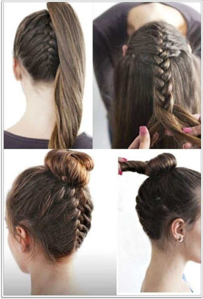 105 Lovely French Braid Hairstyles For You With Newest Braided Underside Hairstyles (View 6 of 25)