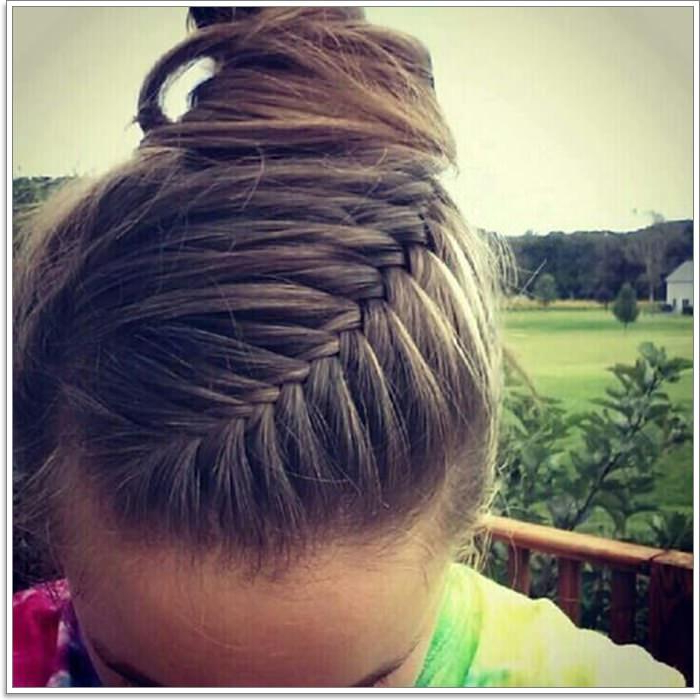 105 Lovely French Braid Hairstyles For You Within 2020 Braided Underside Hairstyles (View 15 of 25)