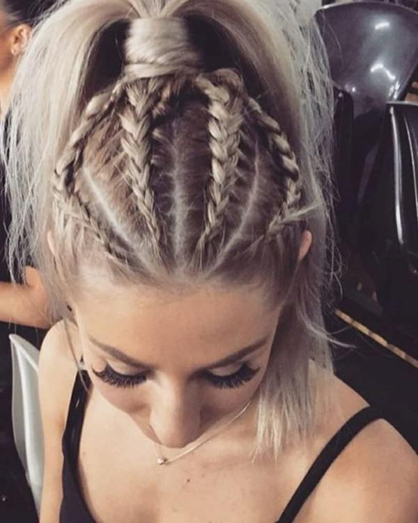 111 Elegant Ponytail Hairstyles For Any Occasion Within Best And Newest High Ponytail Braided Hairstyles (View 14 of 25)