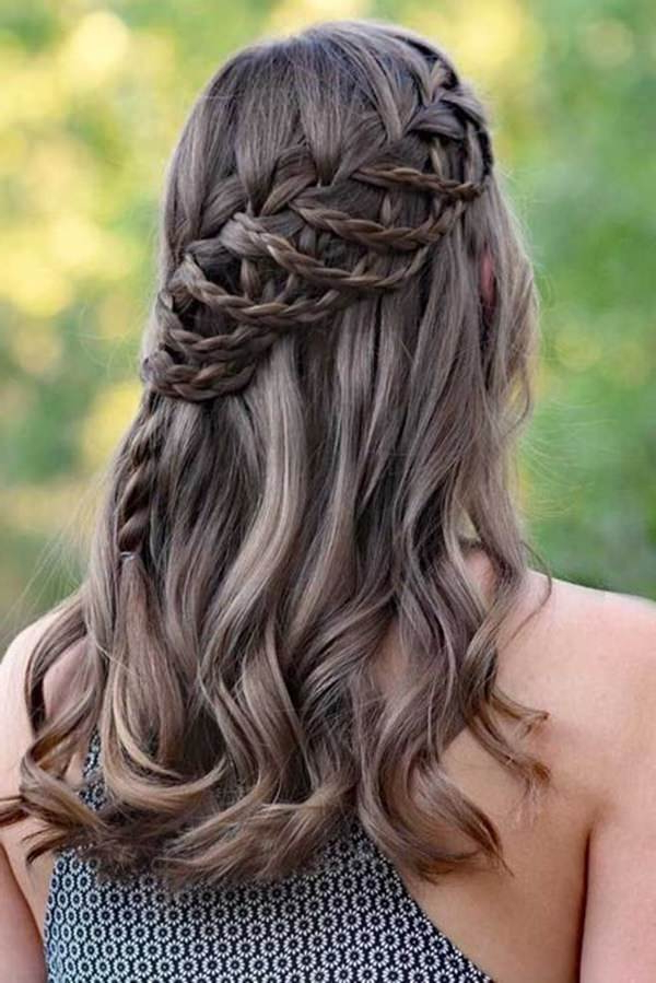 117 Breathtaking Waterfall Braid Ideas With Best And Newest High Waterfall Braided Hairstyles (View 25 of 25)