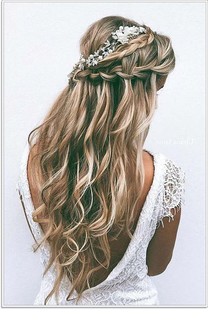 135 Whimsical Half Up Half Down Hairstyles You Can Wear For For Most Popular Loosely Tied Braided Hairstyles With A Ribbon (View 24 of 25)