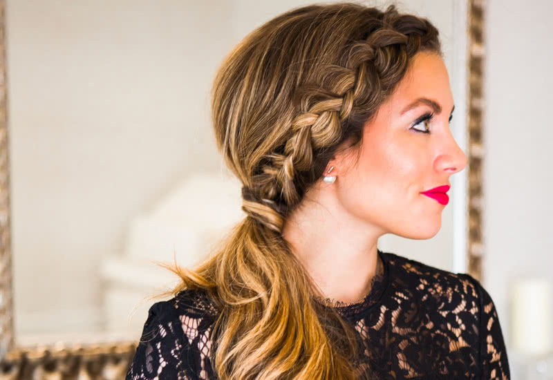 14 Cutest Side Ponytail Ideas For 2019 That You Need To See! For Most Recently Grecian Inspired Ponytail Braided Hairstyles (View 7 of 25)