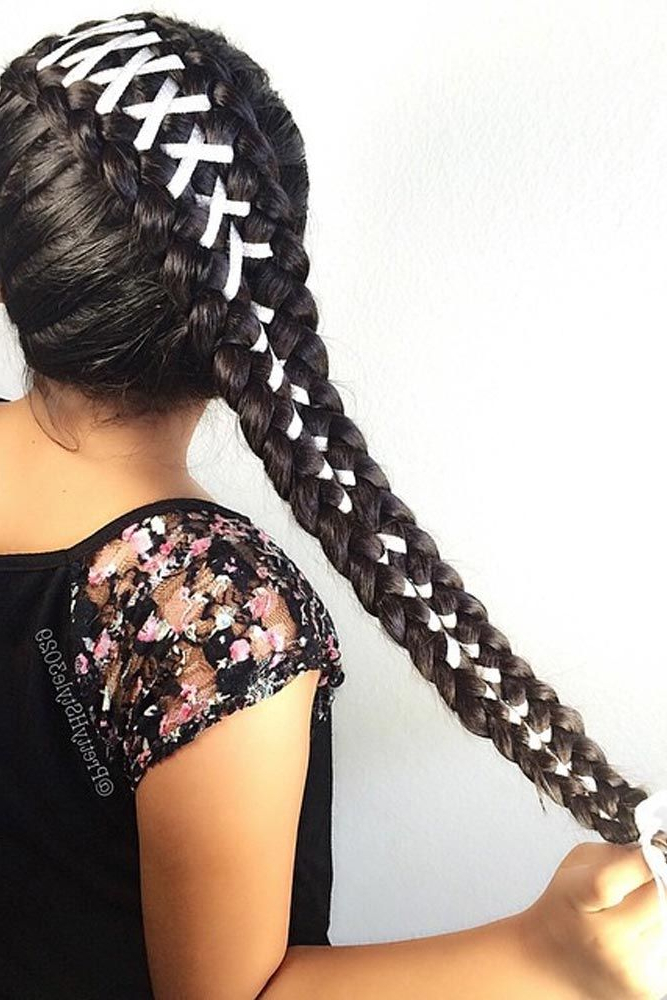 15 Amazing Braid Hairstyles With Corset Braid Hair | Dify Intended For Most Recent Corset Braided Hairstyles (View 3 of 25)