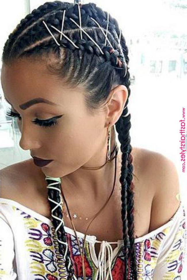 15 Amazing Braid Hairstyles With Corset Braid Hair | Eforest Intended For Recent Corset Braided Hairstyles (View 8 of 25)
