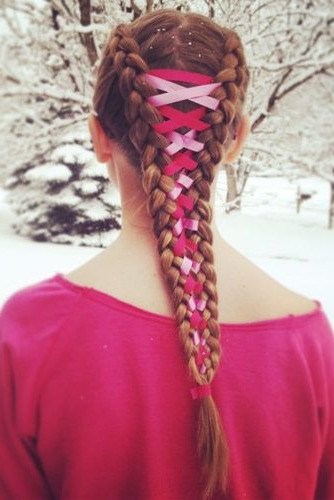 15 Amazing Braid Hairstyles With Corset Braid Hair | Hair Pertaining To Most Popular Corset Braided Hairstyles (View 5 of 25)