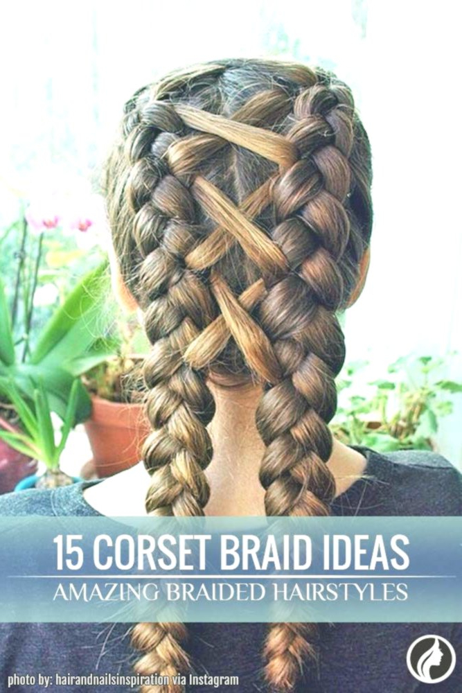 15 Amazing Braid Hairstyles With Corset Braid Hair – My Pin In Most Recent Corset Braided Hairstyles (View 23 of 25)