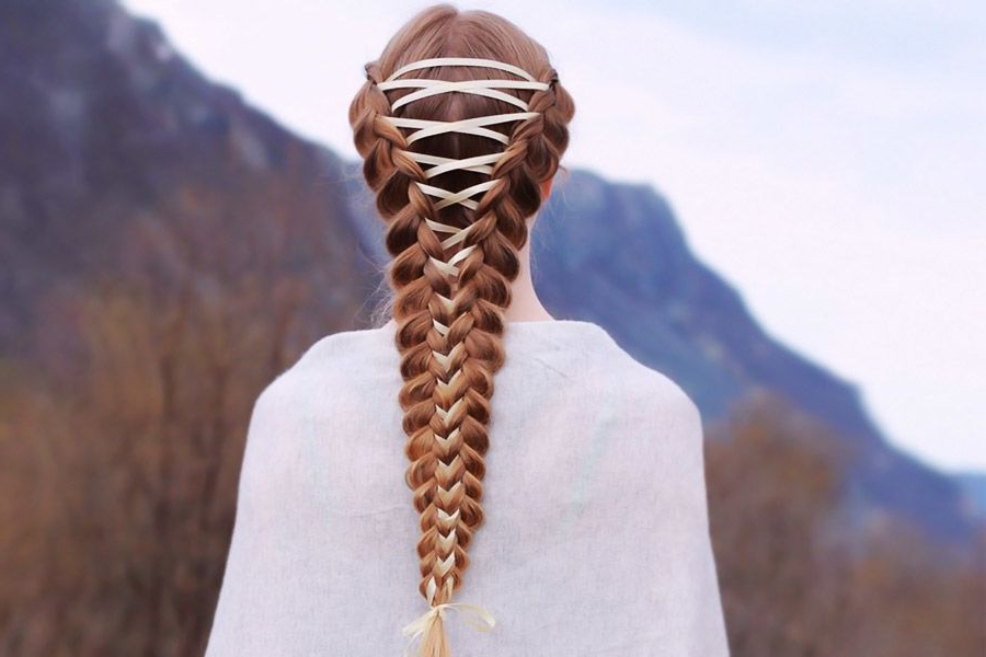 15 Amazing Braid Hairstyles With Corset Braid Hair With Regard To Current Corset Braided Hairstyles (View 2 of 25)