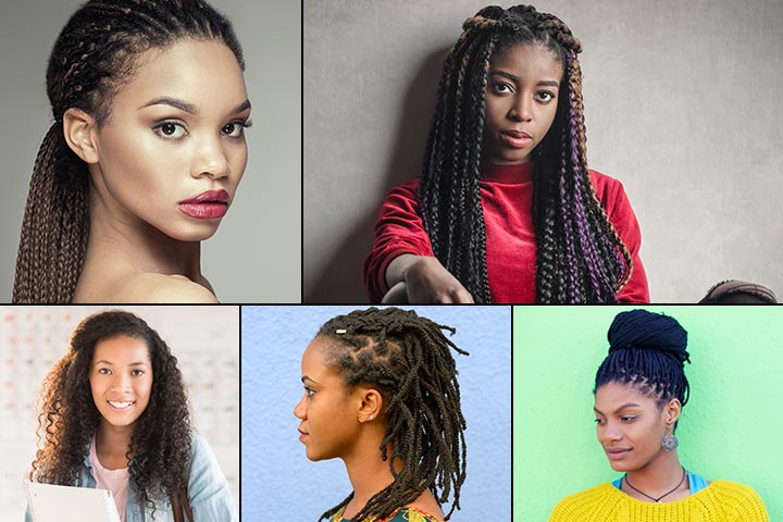 15 Cute Hairstyles For Black Teenage Girls With Regard To Most Current Tapered Tail Braided Hairstyles (View 22 of 25)