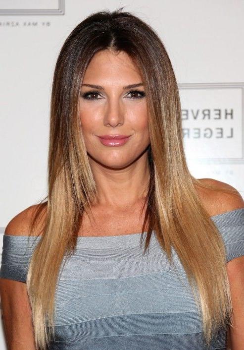 15+ Elegant Sleek Straight Hairstyles For Women: Long Inside Straight And Sleek Hairstyles (View 22 of 25)