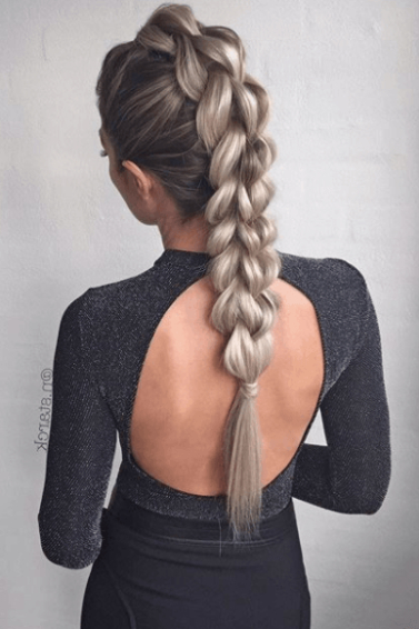 15 Faux Hawk Braid Styles From Instagram To Indulge Your Pertaining To Best And Newest Faux Hawk Braided Hairstyles (View 12 of 25)