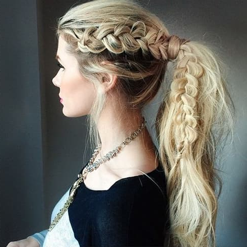 15 Greek Hairstyles You Must Try Today To Channel Your Inner With Most Recently Grecian Inspired Ponytail Braided Hairstyles (View 5 of 25)