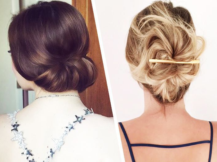 15 Updos For Thin Hair That You'll Love Inside High Volume Donut Bun Updo Hairstyles (View 22 of 25)