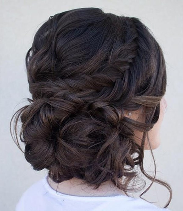 154 Updos For Long Hair Featuring Beautiful Braids And Buns Intended For Best And Newest Big Bun Braided Hairstyles (View 15 of 25)