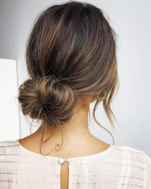 16 Easy Bun Hairstyles To Try (Tending In 2019) With Double Mini Buns Updo Hairstyles (View 20 of 25)