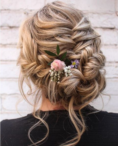 18 Fabulous Fishtail Hairstyle Ideas | All Things Hair Uk Throughout Fishtail Braid Updo Hairstyles (View 10 of 25)