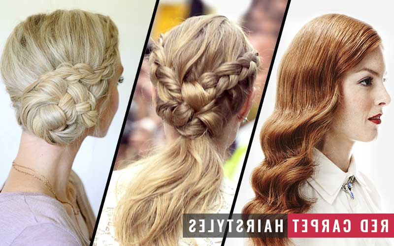 19 Top Notch Red Carpet Hairstyles & How To Achieve Them – Bhrt With Regard To Best And Newest Billowing Ponytail Braided Hairstyles (View 12 of 25)