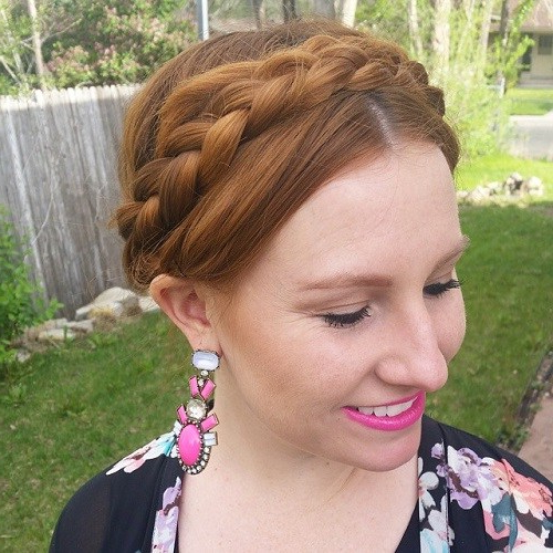 20 Best Milkmaid Hairstyles – Pretty Milkmaid Braid For Pertaining To Newest Milkmaid Crown Braided Hairstyles (View 6 of 25)