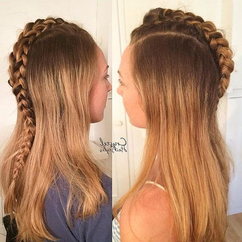 20 Faux Hawk Inspired Hairstyles: Amazing Hairstyles For Women With Regard To Most Current Faux Hawk Braided Hairstyles (View 18 of 25)