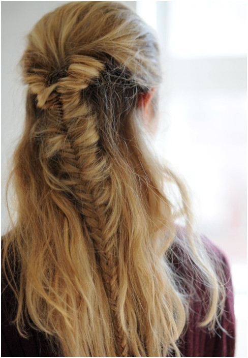 20 Fishtail Braided Hairstyles: Bun, Ponytail, Prom, Messy Intended For Most Current Ponytail Fishtail Braided Hairstyles (View 20 of 25)