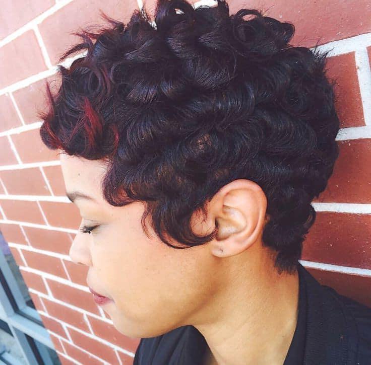 20 Sensational Pin Curls On Black Hair That Rock Regarding Pinned Curls Hairstyles (View 13 of 25)