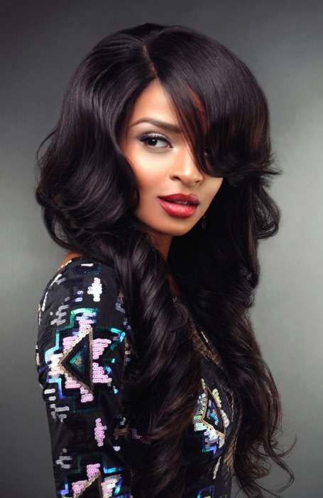 20 Stunning Deep Side Part Hairstyles – The Trend Spotter With Regard To Most Recent Dramatic Side Part Braided Hairstyles (View 24 of 25)