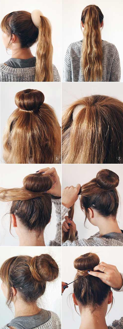 20 Stunningly Easy Diy Messy Buns Pertaining To Messy Bun Hairstyles (View 19 of 25)