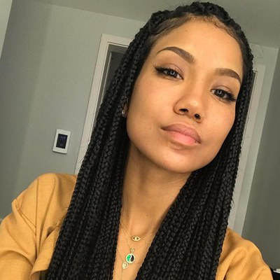 21 Dope Box Braids Hairstyles To Try | Allure Inside Best And Newest Box Braided Hairstyles (View 11 of 25)