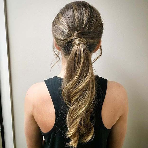 Featured Photo of Wrap Around Ponytail Updo Hairstyles