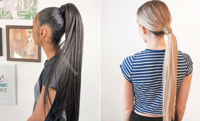 21 Sleek Ponytail Hairstyles Perfect For Any Occasion | Stayglam Within Wrapped Ponytail Hairstyles (View 16 of 25)