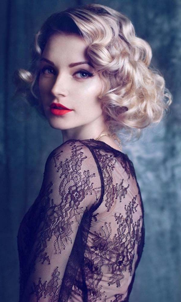 21 Splendid Retro Chic Hairstyles You Must Love | Styles Weekly Pertaining To Retro Curls Hairstyles (View 9 of 25)