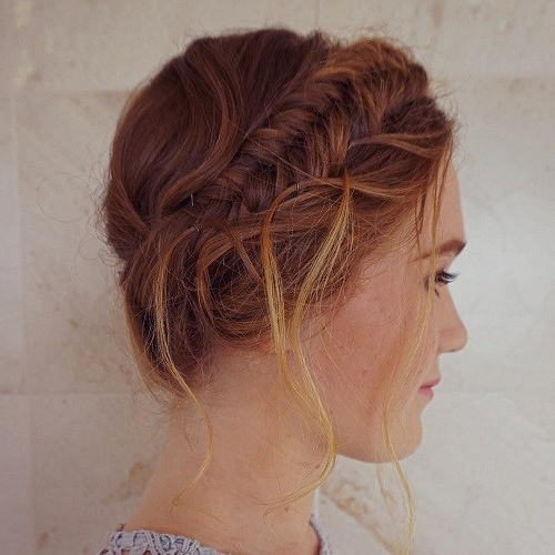 22 Best Milkmaid Braid Hairstyle Ideas – Chic Milkmaid Pertaining To Newest Milkmaid Crown Braided Hairstyles (View 25 of 25)