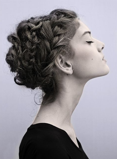 22 Great Braided Updo Hairstyles For Girls – Pretty Designs For Current Messy Crown Braided Hairstyles (View 18 of 25)