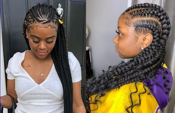 22+ Latest Bohemian Feed In Braids Hairstyles Ponytails To With Regard To Cornrow Braids Hairstyles With Ponytail (View 15 of 25)