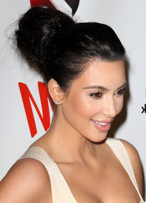 23 Kim Kardashian Hairstyles – Popular Haircuts For Most Current Billowing Ponytail Braided Hairstyles (View 21 of 25)