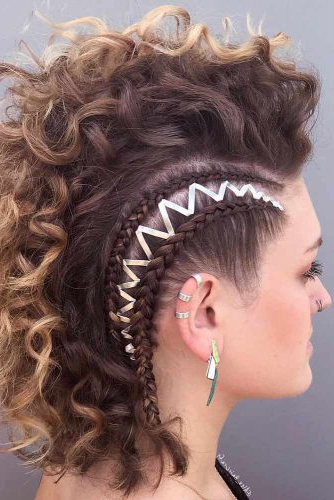 24 Cool And Daring Faux Hawk Hairstyles For Women With Most Popular Faux Hawk Braided Hairstyles (View 25 of 25)