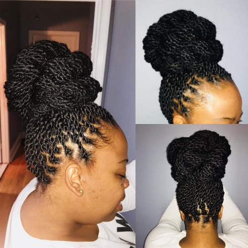 24 Senegalese Twist Styles To Try In 2019 Intended For Twists And Braid Hairstyles (View 21 of 25)