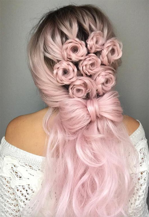 25 Amazing Braided Hairstyles For Long Hair For Every Throughout Most Recently Loosely Tied Braided Hairstyles With A Ribbon (View 10 of 25)