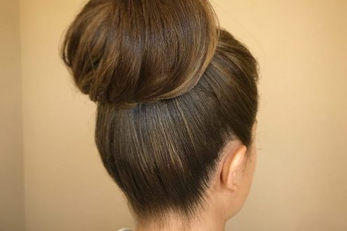 25 Best Updos For Medium Hair In 2019 Within Tie It Up Updo Hairstyles (View 15 of 25)