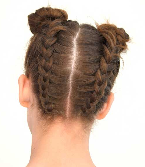 25 Eye Popping Dutch Braid Hairstyles – Tutorial With Pictures Pertaining To Dutch Braid Updo Hairstyles (View 23 of 25)