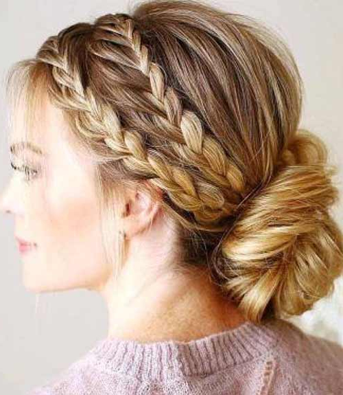 25 Eye Popping Dutch Braid Hairstyles – Tutorial With Pictures With Dutch Braid Updo Hairstyles (View 10 of 25)