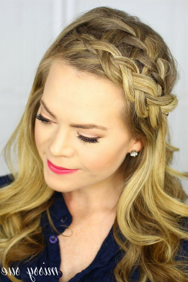 25 Headband Braid Hairstyles Trending In October 2019 Pertaining To Most Recently Full Headband Braided Hairstyles (View 11 of 25)