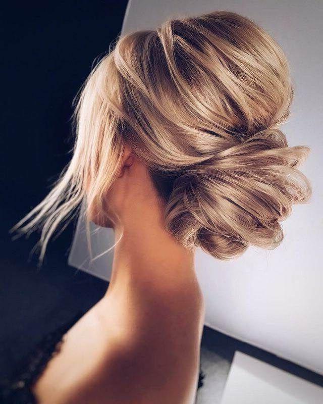 25 Modern And Beautiful Updos For Long Hair | Wedding Hair Regarding High Volume Donut Bun Updo Hairstyles (View 3 of 25)