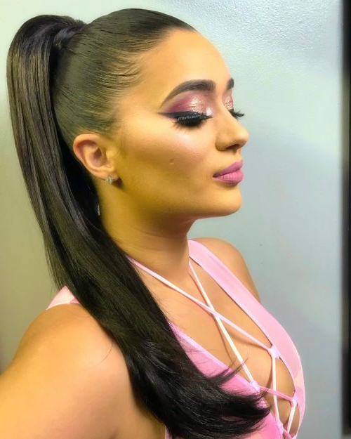 26 Prettiest Hairstyles For Long Straight Hair In 2019 Regarding Straight And Sleek Hairstyles (View 20 of 25)