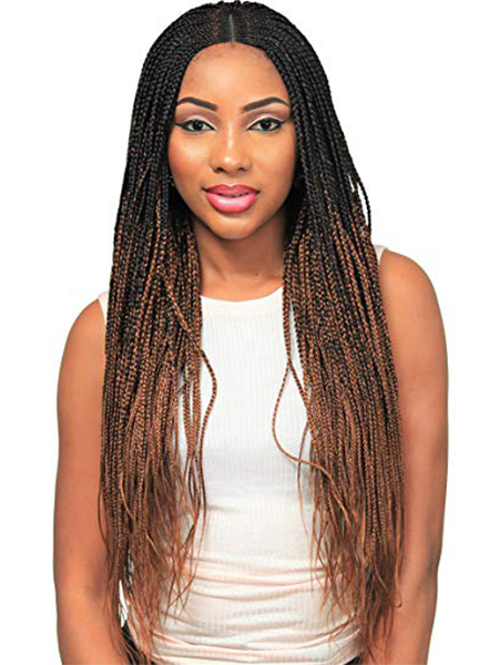 27 Sexy Lemonade Braids You Need To Try – The Trend Spotter Inside Latest Center Part Braided Hairstyles (View 5 of 25)