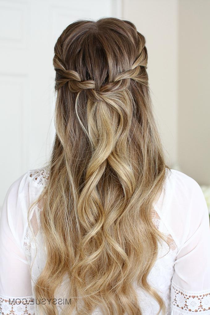 3 Easy Rope Braid Hairstyles | Missy Sue In Braided Half Up Hairstyles (View 9 of 25)