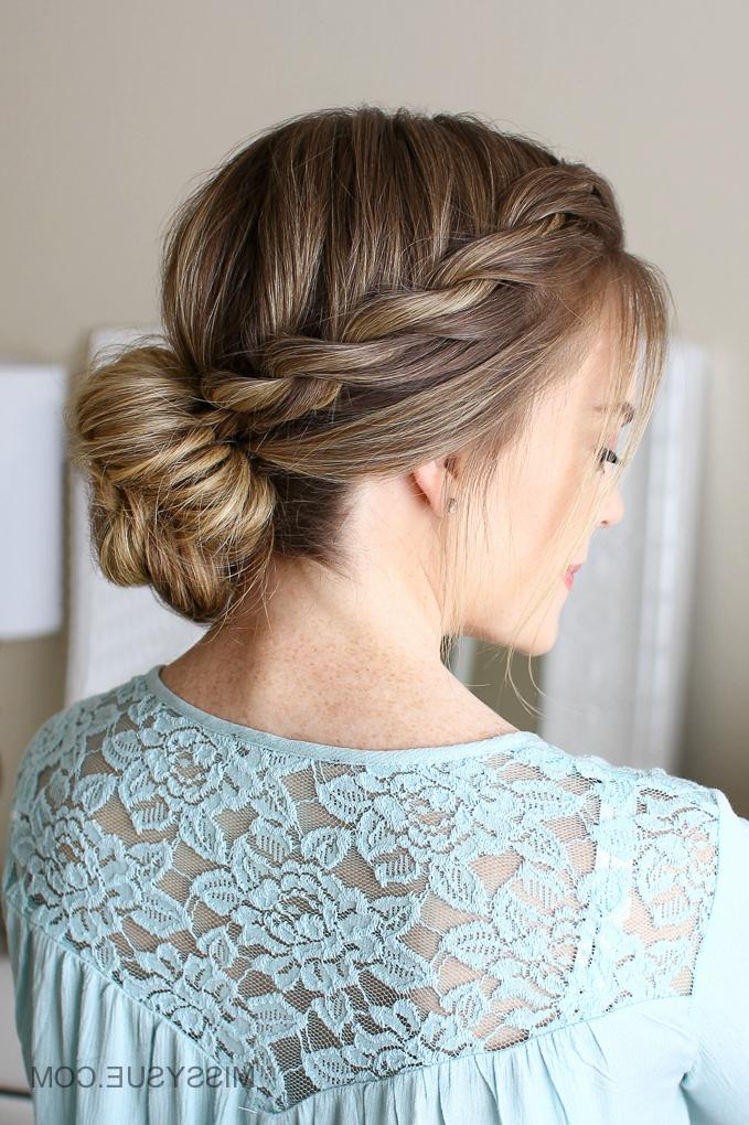 3 Easy Rope Braid Hairstyles | Missy Sue Intended For Twisted Rope Braid Updo Hairstyles (View 4 of 25)