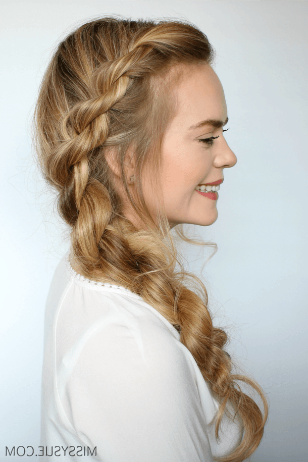 3 Easy Twisted Hairstyles | Twist Hairstyles, Easy With Regard To Twisted Rope Braid Updo Hairstyles (View 12 of 25)