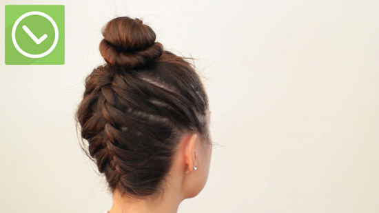 3 Ways To Under Braid – Wikihow Pertaining To Most Recent Braided Underside Hairstyles (View 9 of 25)