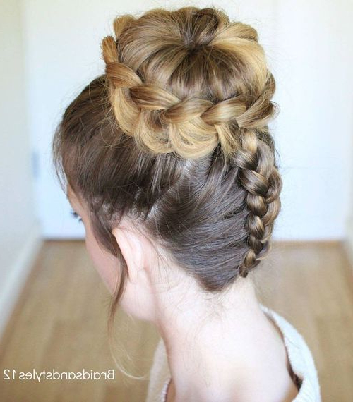 Featured Photo of Dutch Braid Updo Hairstyles